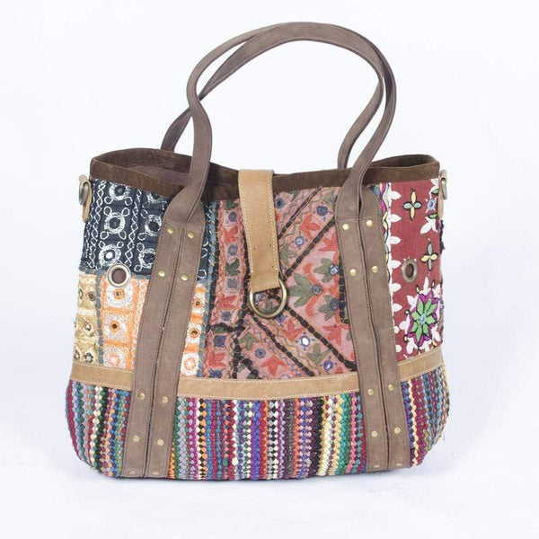 ADVENTURE - PATCHWORK HAND BAG - ART AVENUE