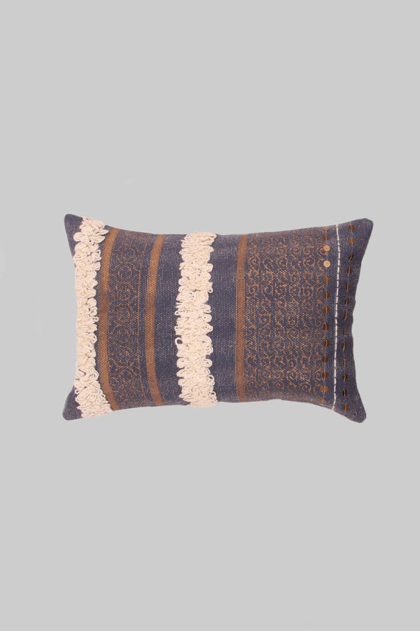 AIR - LUMBAR CUSHION COVER -GREY - ART AVENUE