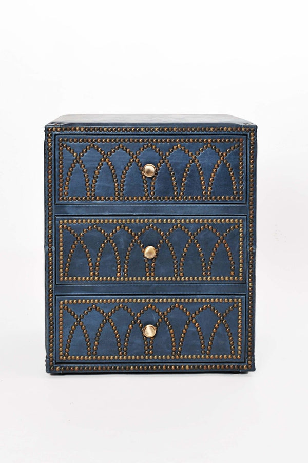 AMY - CHEST OF DRAWERS - LEATHER - ART AVENUE