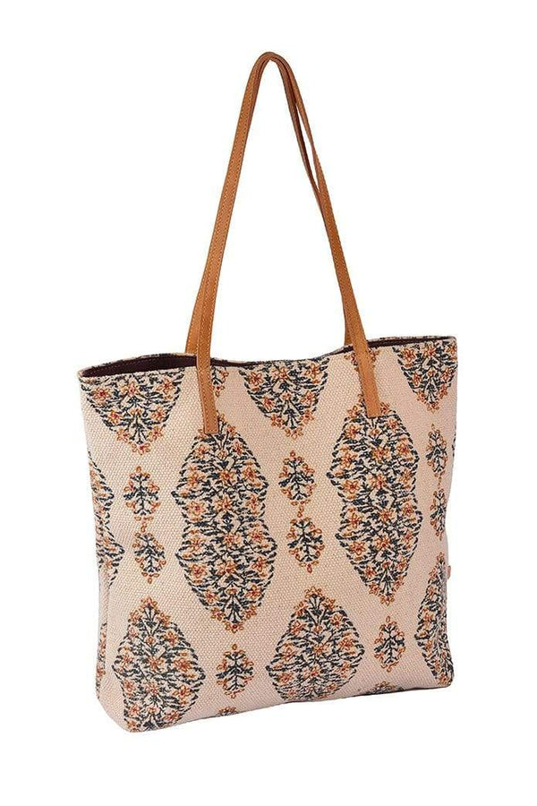 ARMENIA - BLOCK PRINTED TOTE BAG - ART AVENUE