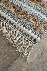 BANGUI- BLOCK PRINTED FLOOR RUNNER - MULTI - ART AVENUE