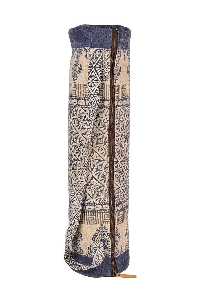 BEGUMSARAI - BLOCK PRINT YOGA BAG - ART AVENUE