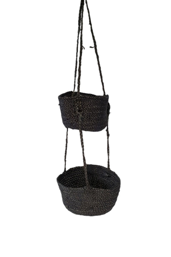 BELAY - HANGING JUTE BaSket - ART AVENUE