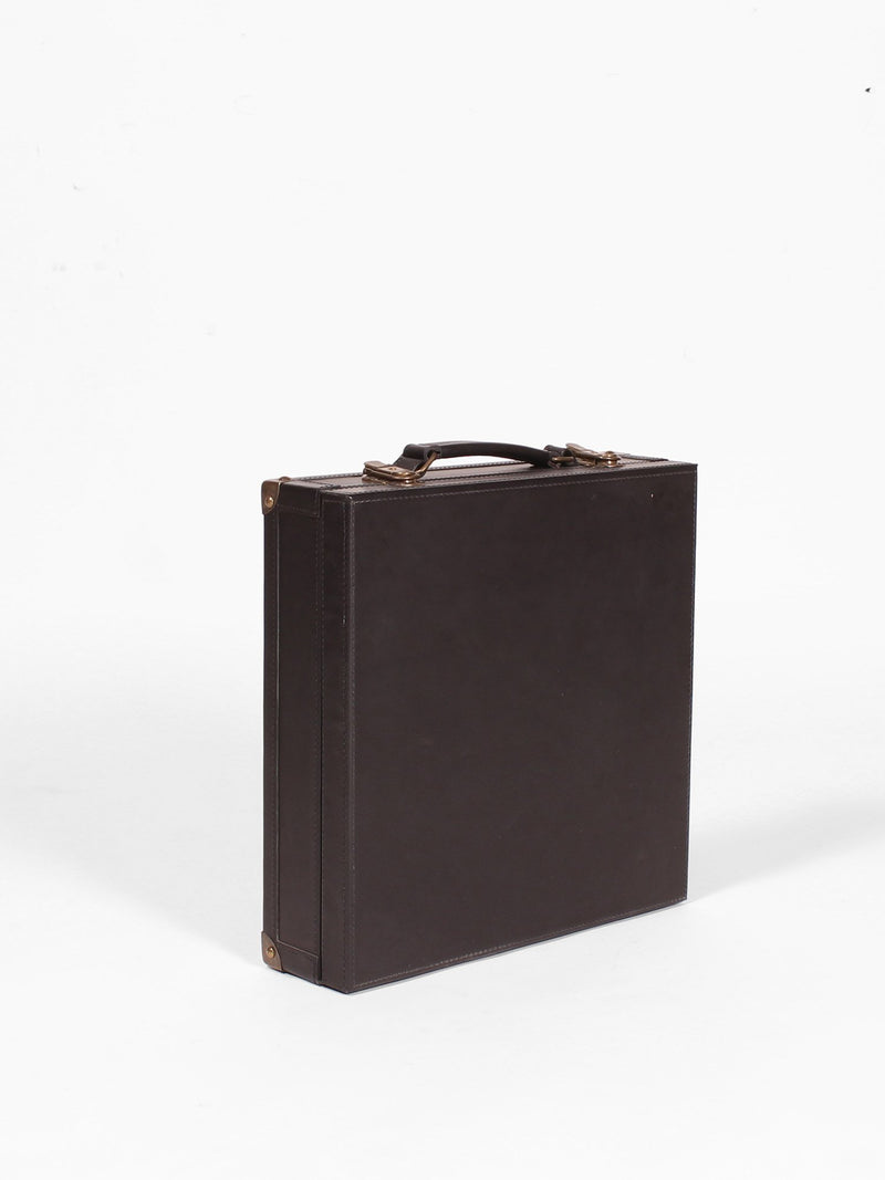 BLAKE - BRIEFCASE - DARK BROWN - ART AVENUE