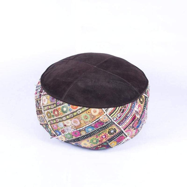 BLUSH - CYLINDRICAL POUF-MULTICOLOUR - ART AVENUE