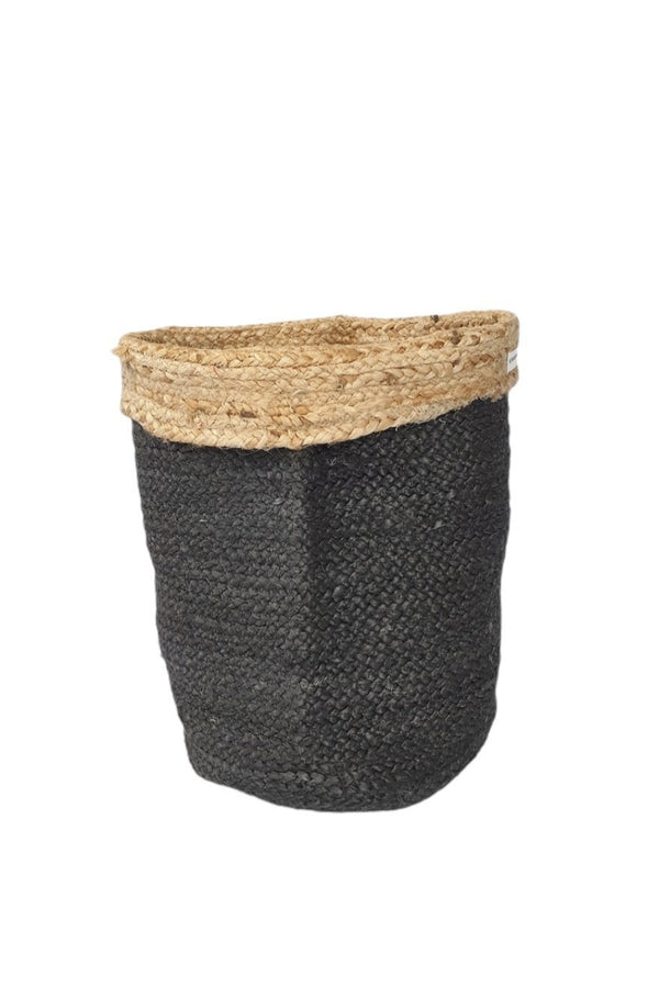 BRICKS - MULTIPURPOSE JUTE BASKET / Planter - ART AVENUE