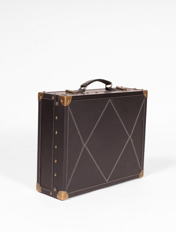 BRITANNY - BRIEFCASE - DARK BROWN - ART AVENUE