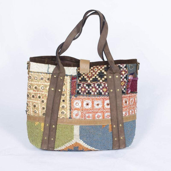 BUSY - PATCHWORK BAG - ART AVENUE