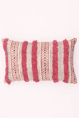 CRETE - LUMBAR CUSHION COVER - PINK - ART AVENUE