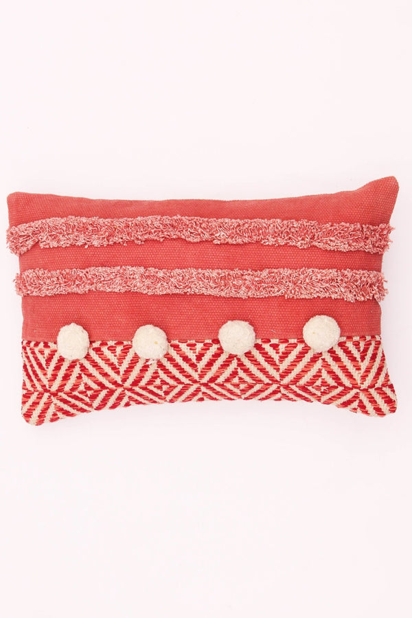 CRUSADE - LUMBAR CUSHION COVER - PEACH - ART AVENUE