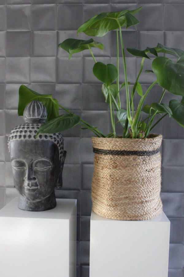 DALIA - MULTIPURPOSE JUTE BASKET / Planter - ART AVENUE