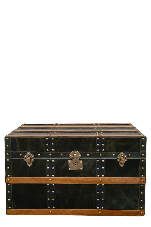DIVINE - BED END LEATHER TRUNK - ART AVENUE