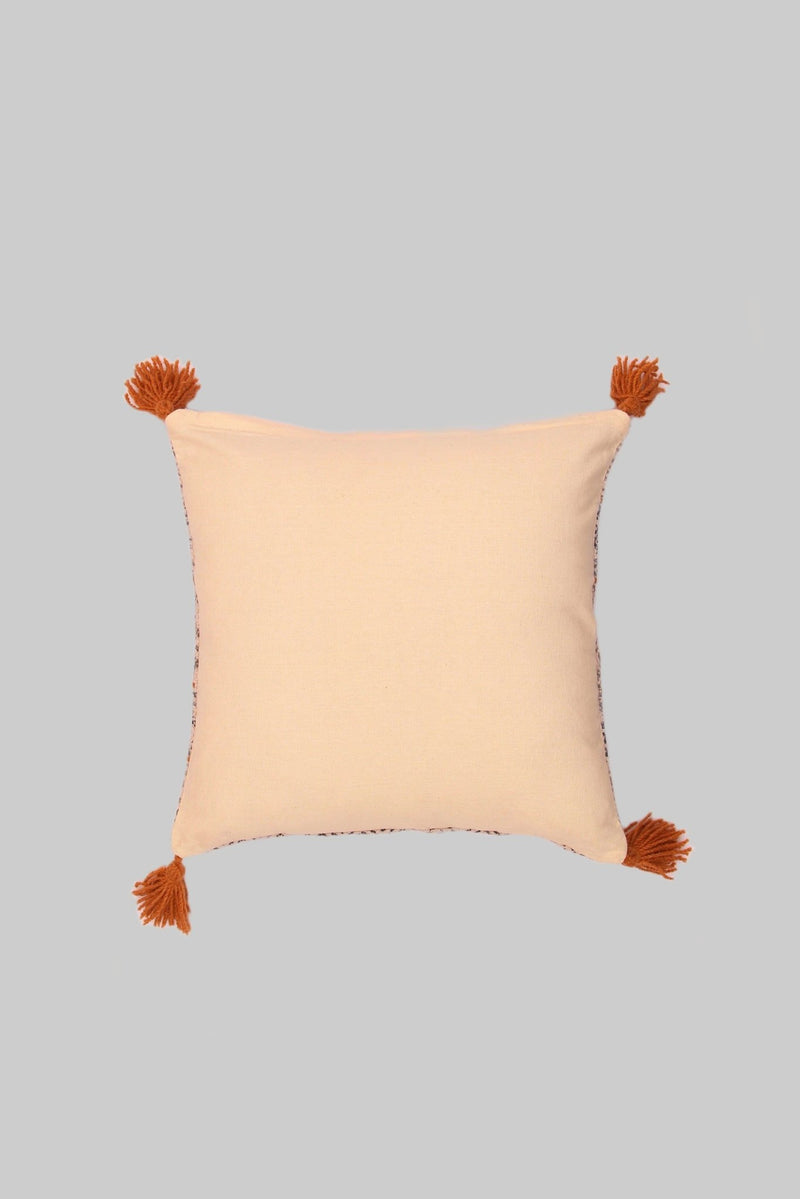 EDDIE - SQUARE CUSHION COVER -GREY - ART AVENUE