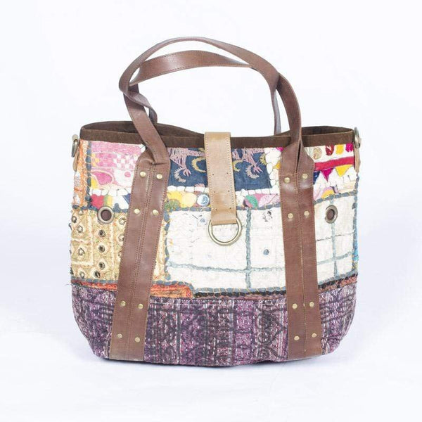 ENVY - PATCHWORK HAND BAG - ART AVENUE