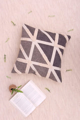 FELT - SQUARE CUSHION COVER -GREY - ART AVENUE
