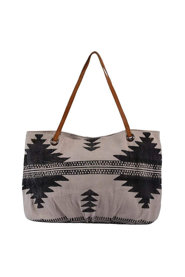 FIJI - BLOCK PRINTED HAND BAG - ART AVENUE
