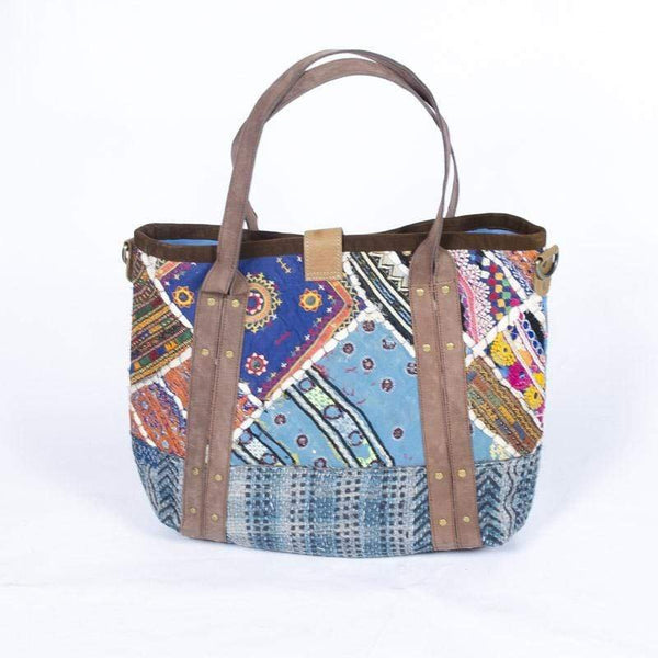 FLEX - PATCHWORK HAND BAG - ART AVENUE