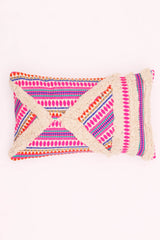 FLORID- LUMBAR CUSHION COVER - MAGENTA - ART AVENUE
