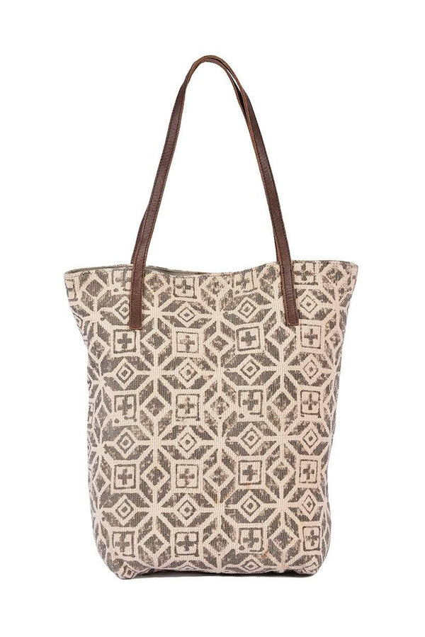 FREQUENCY - PRINTED TOTE BAG - ART AVENUE