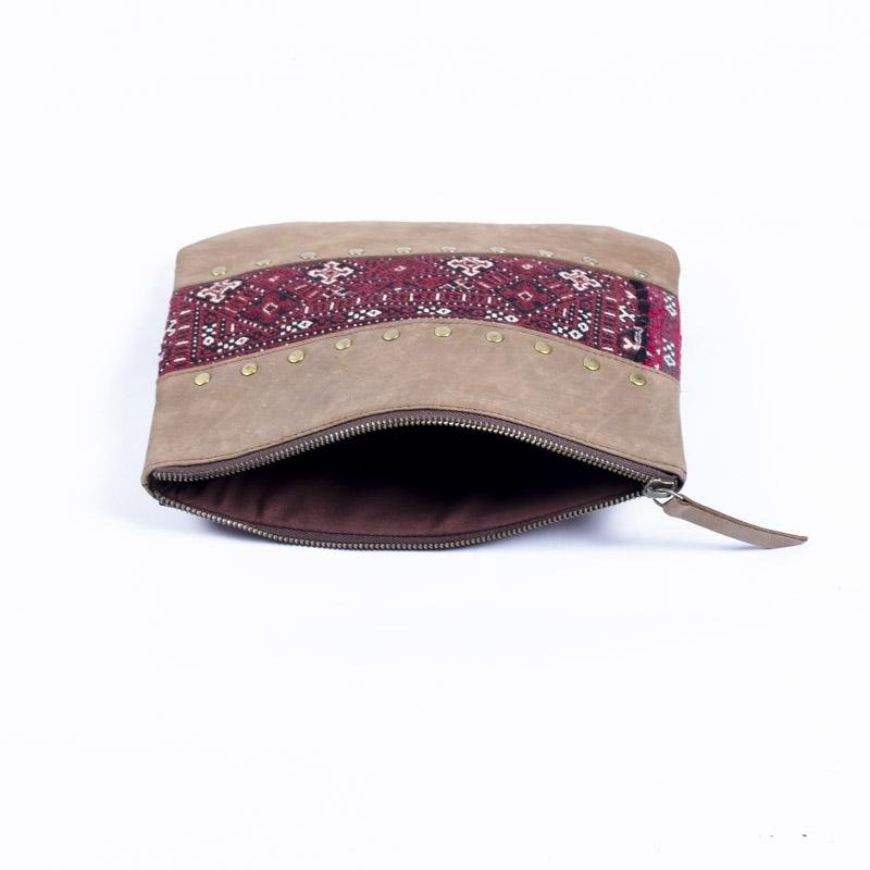 GOBLET- LEATHER POUCH - BROWN - ART AVENUE