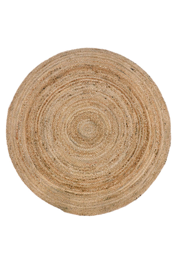 GREAT -ROUND RUG -NATURAL - ART AVENUE