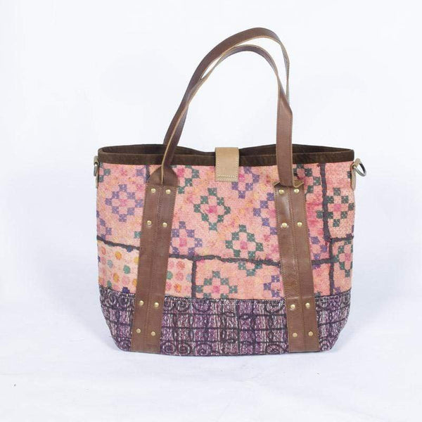 HART - PATCHWORK HAND BAG - ART AVENUE