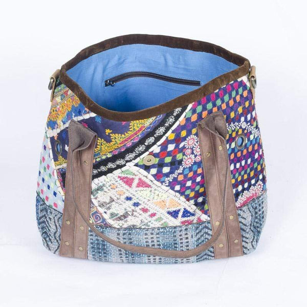 HAUTE - PATCHWORK HAND BAG - ART AVENUE