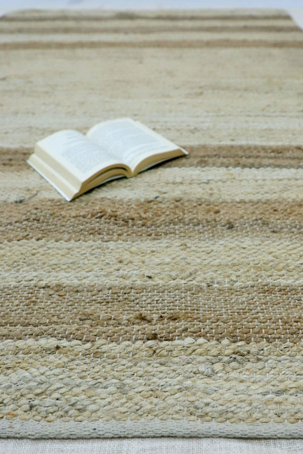 HORIZON- BRAIDED RUG - BEIGE - ART AVENUE
