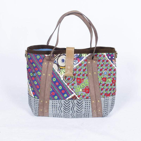 HURRY - PATCHWORK BAG - ART AVENUE