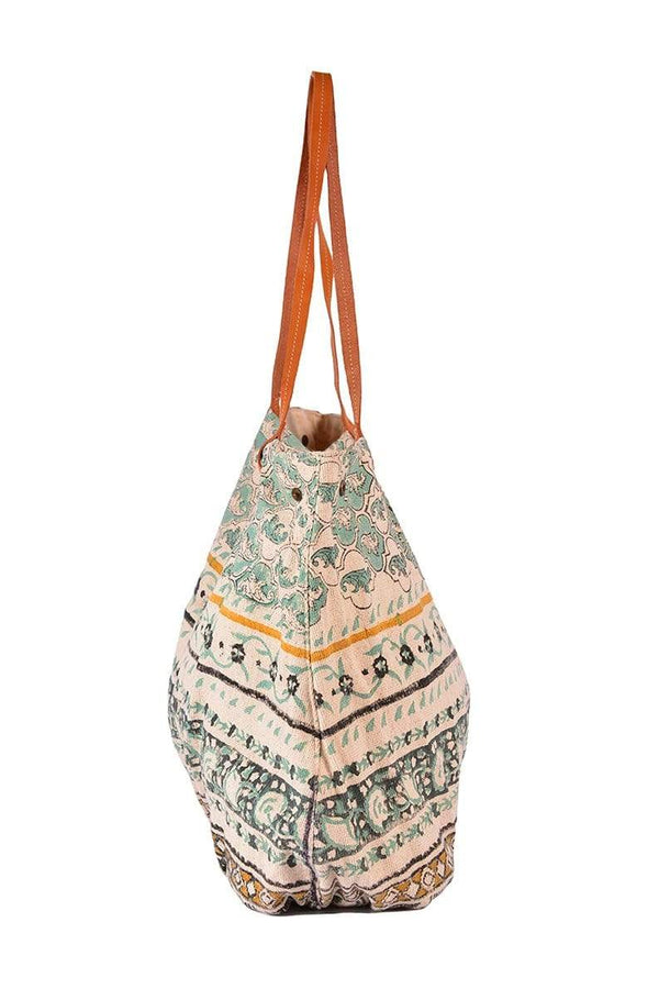 IMPHALA - BLOCK PRINT HAND BAG - ART AVENUE