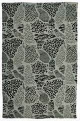 KUMHER - PRINTED RUG - GREEN - ART AVENUE