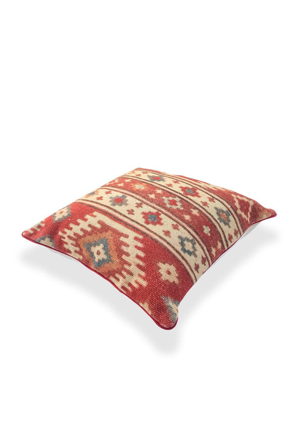 LABRAR - SQUARE CUSHION COVER -MULTI - ART AVENUE