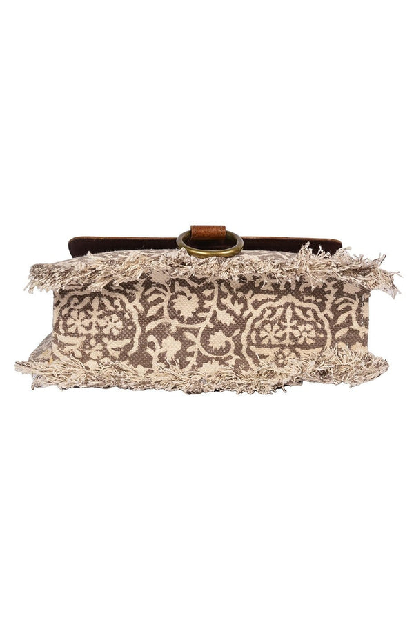MAARTEN- BLOCK PRINT SLING BAG - ART AVENUE