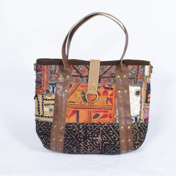 MODERN - PATCHWORK HAND BAG - ART AVENUE