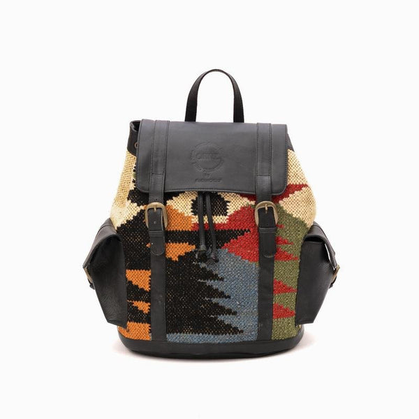 MOONLIGHT - KILIM & LEATHER BAG - ART AVENUE