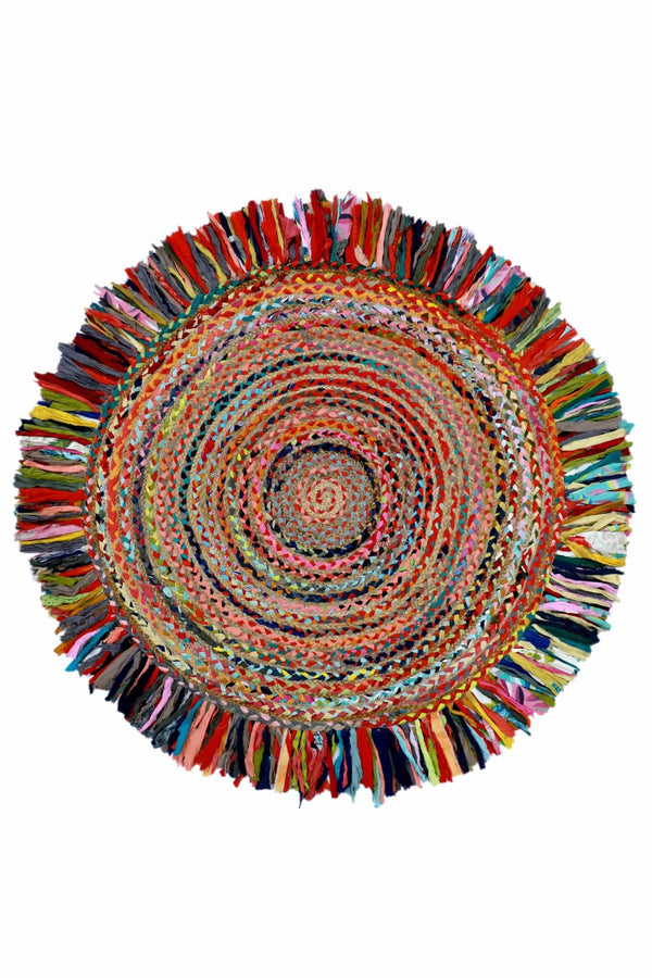 OUT -ROUND RUG -MULTICOLOUR - ART AVENUE