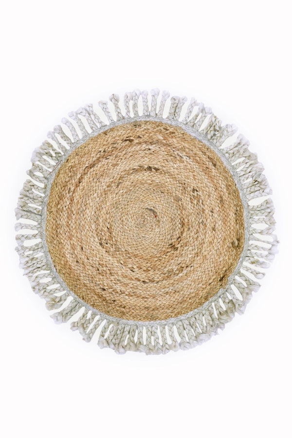 OUTLINE -ROUND RUG -NATURAL - ART AVENUE