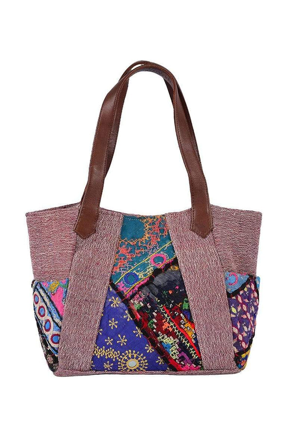 PASSENGER -PATCHWORK BAG - ART AVENUE