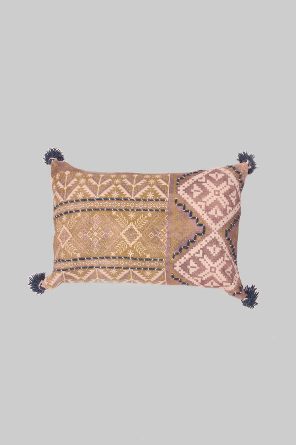 PINE HUT - LUMBAR CUSHION COVER - MULTICOLOR - ART AVENUE