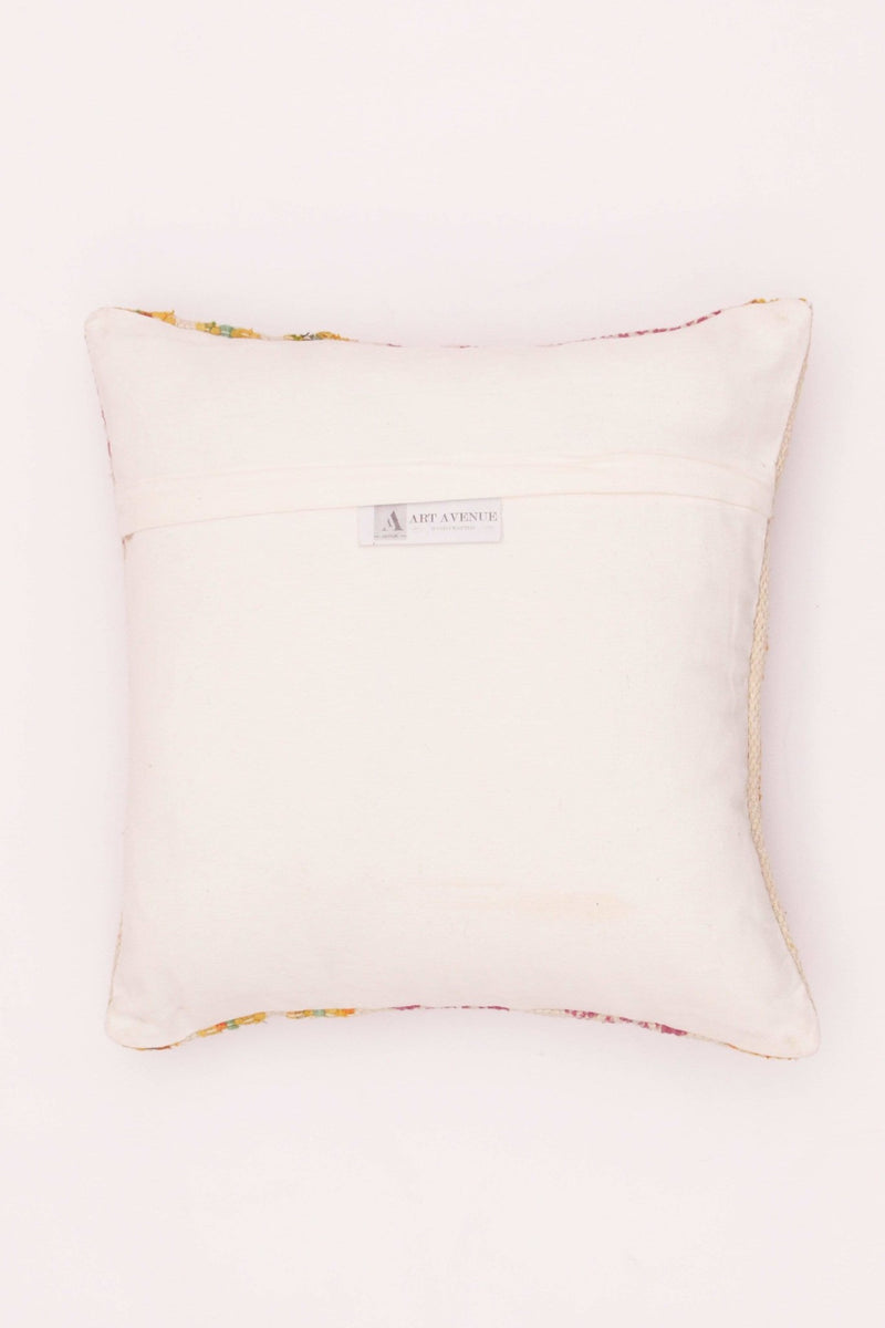 PLUM - SQUARE CUSHION COVER -PINK - ART AVENUE