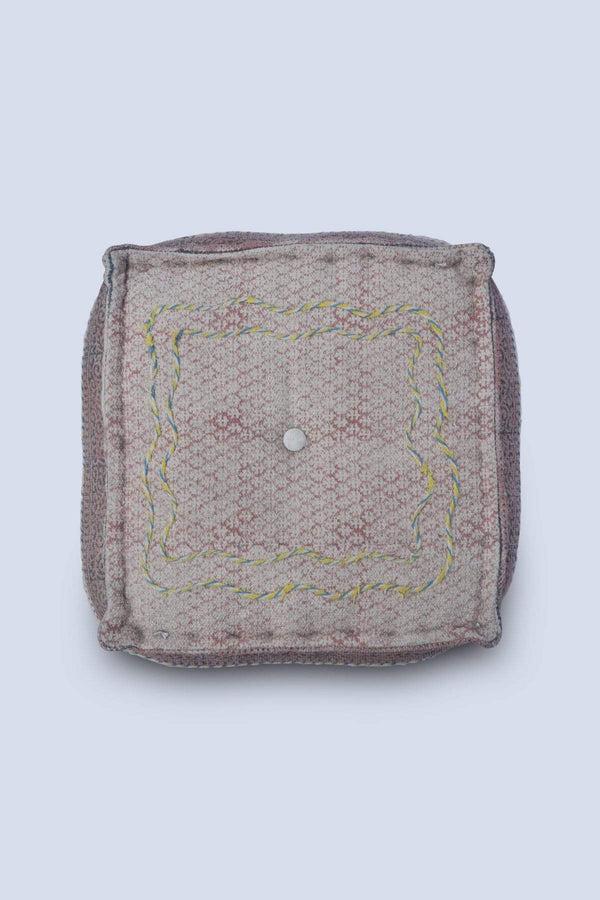 RESORT - CUBICAL POUF-PEACH - ART AVENUE