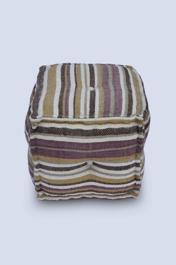 RETRO - CUBICAL POUF-MULTICOLOUR - ART AVENUE