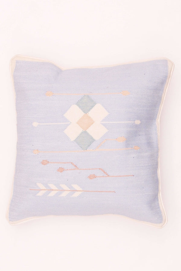 ROYALTY - SQUARE CUSHION COVER - BLUE - ART AVENUE