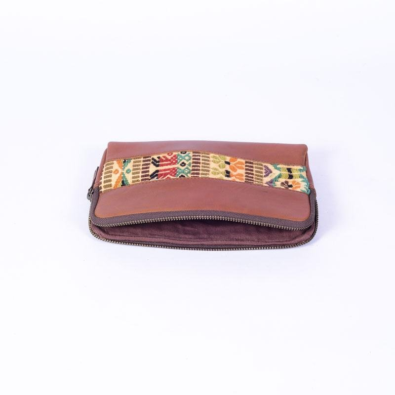 RUBE - LEATHER SLEEVE - BROWN - ART AVENUE