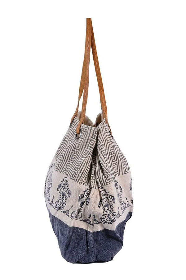SABOTAGE - BLOCK PRINTED HAND BAG - ART AVENUE