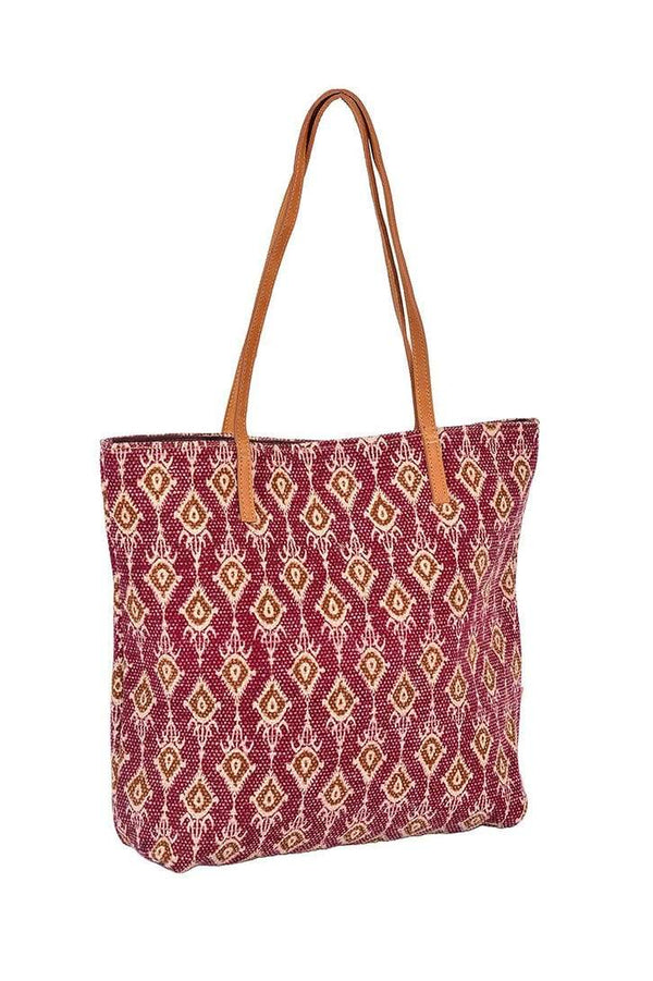 SAKHALIN - PRINTED TOTE BAG - ART AVENUE