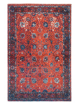 SAUCY - PRINTED RUG - RED - ART AVENUE