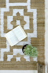 SCORPIO - HANDWOVEN RUG - BROWN - ART AVENUE