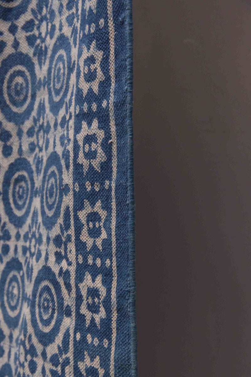 SEED RECTANGULAR RUGS INDIGO - ART AVENUE