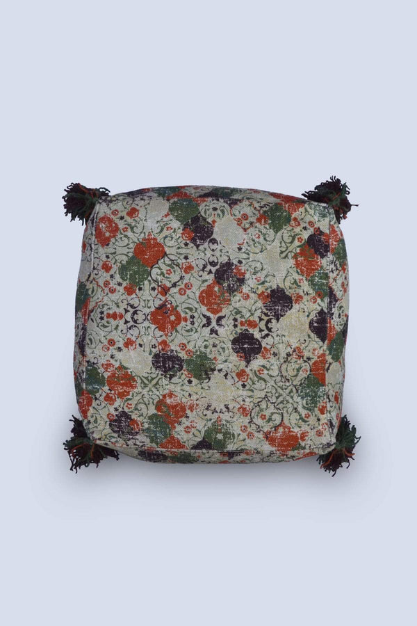 SLEEP - CUBICAL POUF-MULTICOLOUR - ART AVENUE